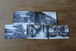 Lot De 5 Cartes Postales PYRENEES  PAU  HOPITAL AUXILIAIRE 137 CACHET  Lot  10 - Pau