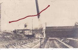 (59) - Sains Du Nord Explosion  Carte Photo Allemande 1° Guerre - Frankreich