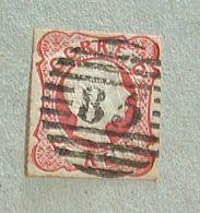 1856/1858 D.Pedro V, Cabelos Anelados - Afinsa Nº13 - L972 - 1855-1858 : D.Pedro V