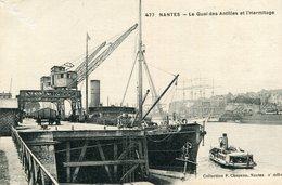 NANTES - Le Quai Des Antilles Et L'Hermitage - Nantes