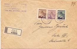 CECOSLOVACCHIA 1947 REGISTRED MAIL PRAHA  (FEB201006) - Cecoslovacchia
