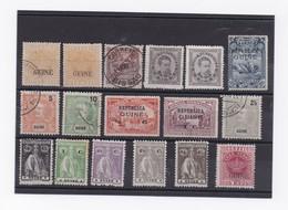 LOT DE TIMBRE DE GUINEE PORTUGAISE - Postzegels