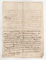 Lettre De 1782 - Manuscripts