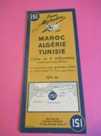 Carte Routière Ancienne/Pneu Michelin/MAROC-ALGÉRIE-TUNISIE/N°151/Clermont Ferrand/Schneider Mary/Levallois/1942  PGC307 - Roadmaps