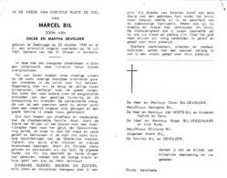 VISSER  M.BIL °ZEEBRUGGE 1940 +1967 (M.DEVOLDER) - Images Religieuses