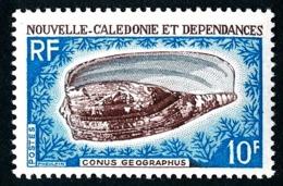 NOUV.-CALEDONIE 1968 - Yv. 354 **   Cote= 5,00 EUR - Coquillage Conus Geographus  ..Réf.NCE25090 - Nouvelle-Calédonie