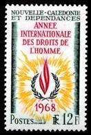 NOUV.-CALEDONIE 1968 - Yv. 353 **   Cote= 5,00 EUR - Année Des Droits De L'Homme  ..Réf.NCE25087 - Nouvelle-Calédonie