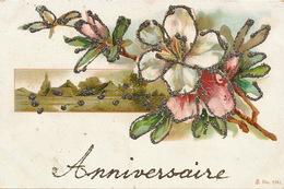 Art Card With Paillettes  . Avant 1903 - Post