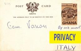 2115 - CARTOLINA POSTALE DEL GHANA - Ghana - Gold Coast