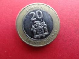 Jamaique  20 Dollars  2008  Km !!! - Jamaique