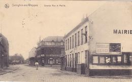 (59) - Sainghin-en-Weppes Mairie  Carte Allemande 1° Guerre - France