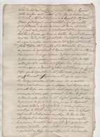 Vieux Papier 1826 - Manuscripts