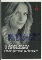 Sandrine Corman. La Journée Mondiale Contre Le SIDA. Ruban Rouge.Carte Boomerang - Santé