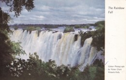 AM63 The Rainbow Fall, Victoria Falls, Rhodesia - Zimbabwe