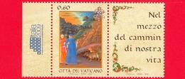 Nuovo - MNH - VATICANO - 2009 - Italia 2009 - Giornata Della Lingua Italiana - Dante Alighieri E Virgilio - 0.60 - Ungebraucht