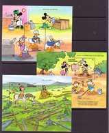 GRENADA-GRENADINES 1991  DISNEY-ECOLOGIE  YVERT N°214-223/24  NEUF MNH** - Disney