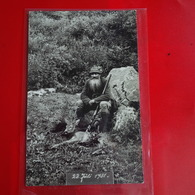 CARTE PHOTO CHASSEUR AVEC GIBIER 1931 - Chasse