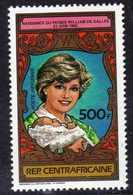 Centrafricaine P. A.  N° 283 XX 21ème Annive. De La Princesse De Galles Et De Pr Williams, Sans Charnière, TB - Centrafricaine (République)