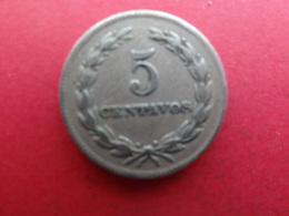 El Salvador  5 Centavos  1977  Km149 B - El Salvador