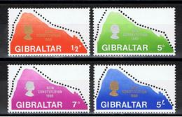 Gibraltar / 1969, Nouvelle Constitution / YT N°220-223 ** - Gibraltar