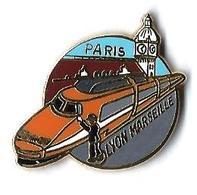 TGV  - T4 - TGV SUD EST - PARIS-LYON-MARSEILLE - Verso : BALLARD - TGV