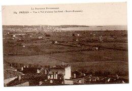 83.FREJUS...CPA...VUE AERIENNE VERS 1910......VOIR SCAN.....LOT A448 - Frejus