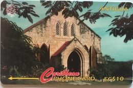 ANTIGUA  -  Phonecard -  Gilberts Memorial Methodist  -  EC$10 - Antigua And Barbuda