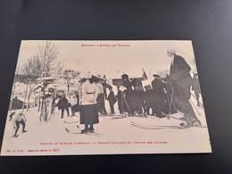CPA (88) Semaine D'Hiver Des Vosges . Groupe De Skieurs..(I.393) - Sonstige Gemeinden
