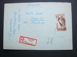 1947 , Einschreiben Aus LUISENTHAL, Rs. Ankunftstempel - 1947-56 Allierte Besetzung