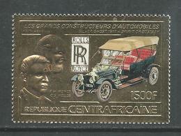 Centrafricaine P. A.  N° 290 XX  Grands Constructeurs : Rolls-Royce 1500 F. Or, Sans Charnière, TB - Centrafricaine (République)