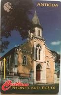 ANTIGUA  -  Phonecard -  St. Barnabus Anglican  -  EC$10 - Antigua And Barbuda