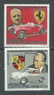 Centrafricaine P. A.  N° 288 / 89 XX  Grands Constructeurs : Ferrari Et Porsche, Les 2 Valeurs Sans Charnière, TB - Centrafricaine (République)