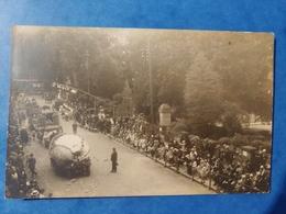 Fête Des Fleurs à Luxeuil Les Bains  30 Août 1930 Carte Fabriquée En Angleterre Haute Saône Franche Comté - Luxeuil Les Bains