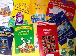 FDJ 1 LOT DE 10 PUBLICITÉS N2 C2 FLAYERS MAILINGS ANNÉES 1990/2000 ? FRANÇAISE DES JEUX - VOIR BOUTIQUE Serbon63 - Advertising