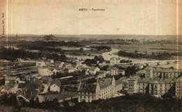 CPA  (57)   METZ  -  Panorama - Metz