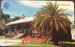 ANTIGUA  -  Phonecard -  Sawcolts Methodist Church  -  EC$20 - Antigua And Barbuda
