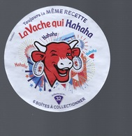 LA VACHE QUI RIT - Etiquette N° 76040947 - La Vache Qui Hahaha - - Formaggio