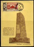 Comores  N° PA 4 Sue Carte Postale,  Oblitération Dzaoudzi Philatélie,   1954 - Lettres & Documents