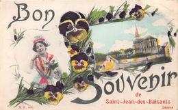 Bon Souvenir De SAINT JEAN DES BAISANTS - L'Eglise - Francia