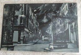 54 Nancy  Rue Gambetta La Nuit Tram Porte Stanislas - Nancy