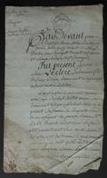 Manuscrit Du XVIIIe Siècle - Eure - Saint-Aubin De Scellon - Protagonistes Louis Leclerc Et Autres - Manuscritos