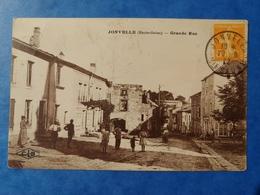 Jonvelle Grande Rue Cachet Et Timbre Taxe Haute Saône Franche Comté - Altri Comuni