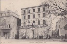 Bv - Cpa LORIENT - Le Théatre Et La Poste - Lorient