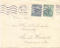 CECOSLOVACCHIA COVER  1937 PRAHA   (FEB201024) - Cecoslovacchia