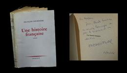 [ENVOI DEDICACE] NOURISSIER (François) - Une Histoire Française. EO. - Livres Dédicacés