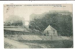 CPA-Carte  Postale -Belgique-Bouillon- Le Château ,les 2 Ponts Levis Et Un Ancien Bastion -1910-VM13031 - Bouillon