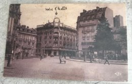 54 Nancy 1931 Place Thiers Hotel Excelsior Charrette Velo Autos - Nancy