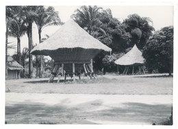 Photo Afrique 12,8 X 17,8 Cms, AEF Moyen Congo - Hinkala, Silo à Riz - Africa