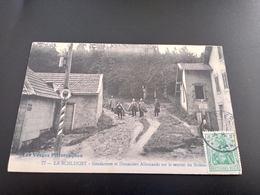 CPA (88) La Schlucht. Gendarmes Et Douaniers Allemands .Sentier De Hohneck.  (I.403) - Other Municipalities
