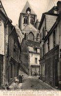 12376     ST AIGNAN    RUE DU FOUR VIEILLE MAISON DU XVe  SIECLE ET CLOCHER DE L EGLISE - Francia